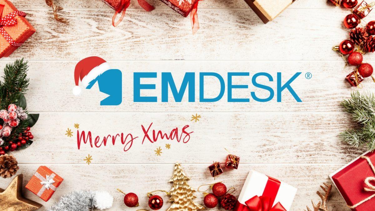 EMDESK Review Post at Christmas